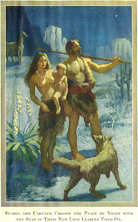 Illustration by Armstrong Sperry from Carnack, The Life-Bringer, 1928 -- p. 376